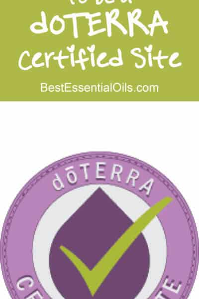 Why, How and When to Be Approved as a doTERRA Certified Site