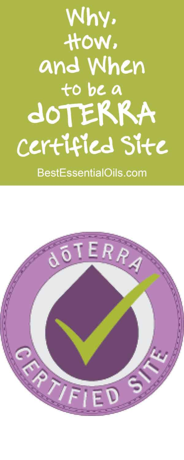 Why, how and when to be a doTERRA certified site and all the rules and policies. It's so good to have this all in one place!