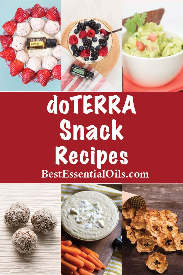doTERRA Snack Recipes