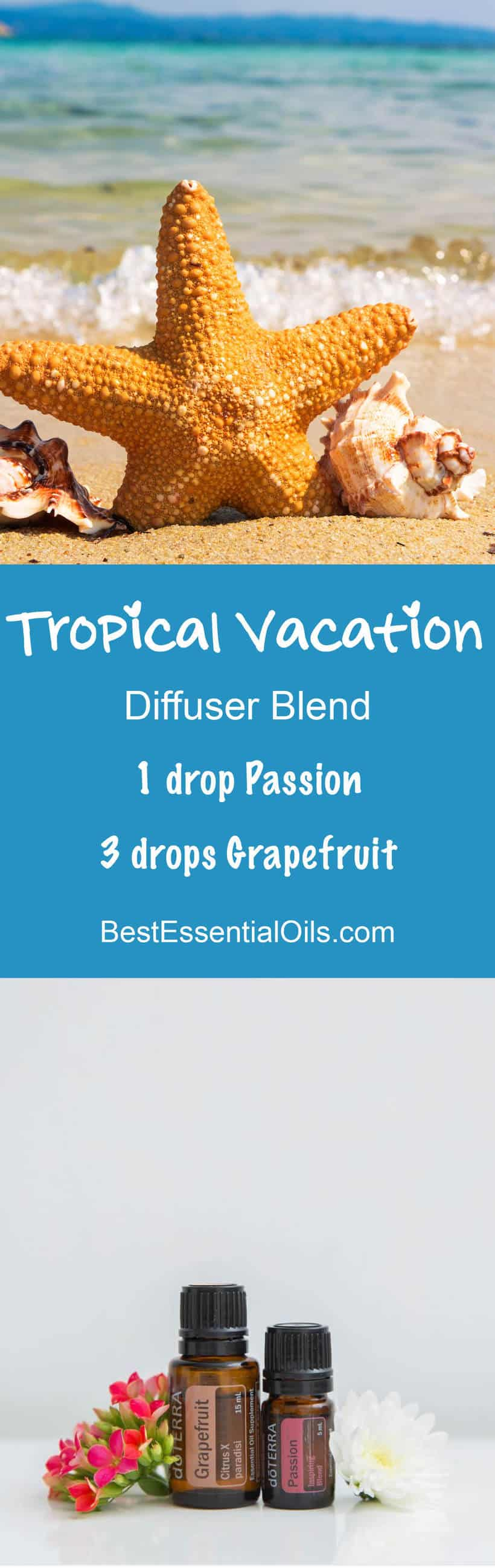 doTERRA Tropical Vacation diffuser blend