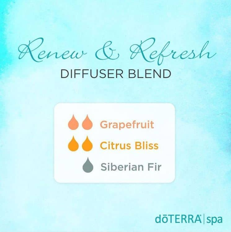 doTERRA Renew and Refresh Diffuser Blend