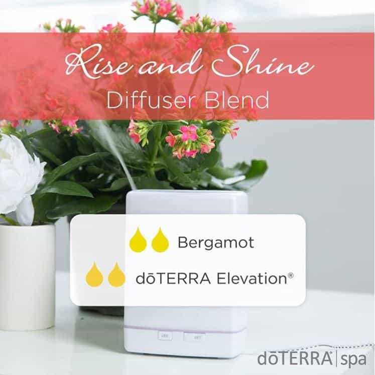 doTERRA Rise and Shine Diffuser Blend