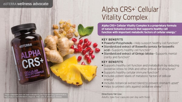 doTERRA Alpha CRS+ Benefits and Uses