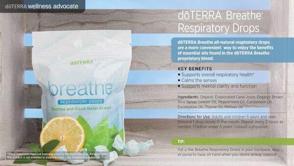 doTERRA Breathe Respiratory Drops Benefits