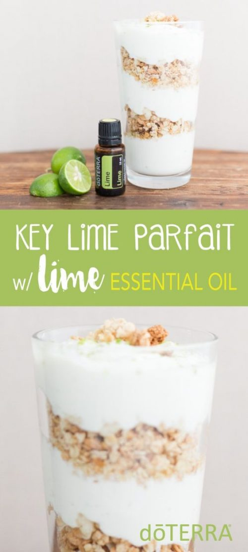 doTERRA Key Lime Pie Parfait