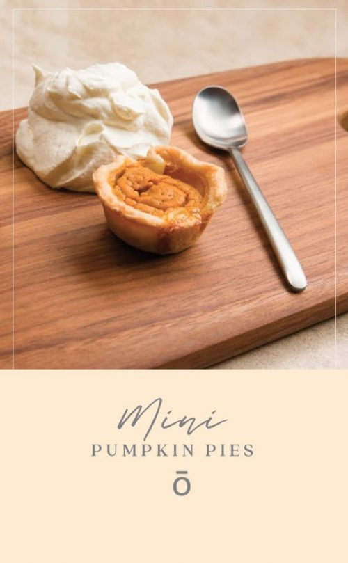 doTERRA Mini Pumpkin Pies