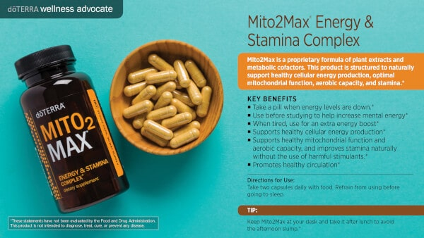 doTERRA Mito2Max Benefits and Uses