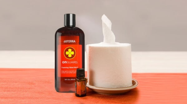doTERRA DIY Cleaning Wipes