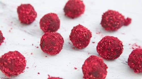 doTERRA Dark Chocolate Raspberry Orange Truffles