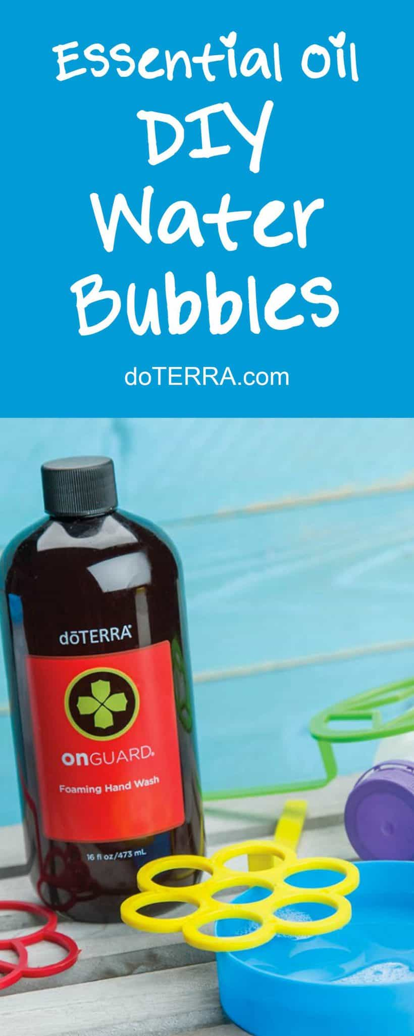 doTERRA DIY Bubbles Recipe