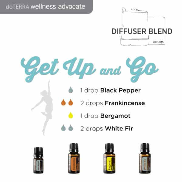 doTERRA Essential Oils Get Up and Go Diffuser Blend