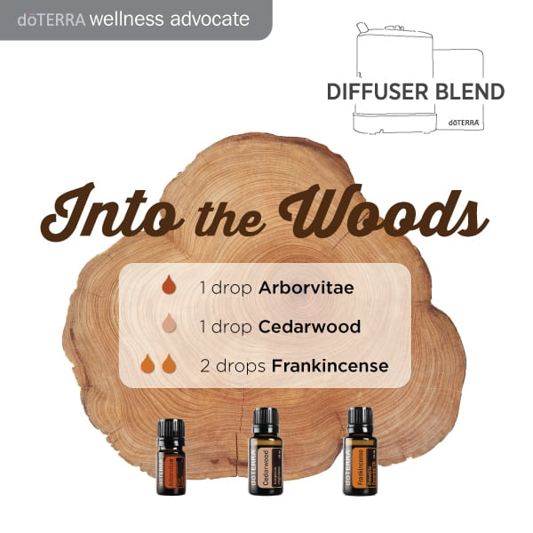 doTERRA Into the Woods Diffuser Blend