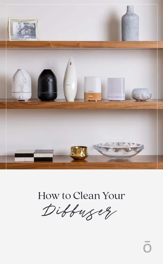 Cleaning doTERRA Diffuser