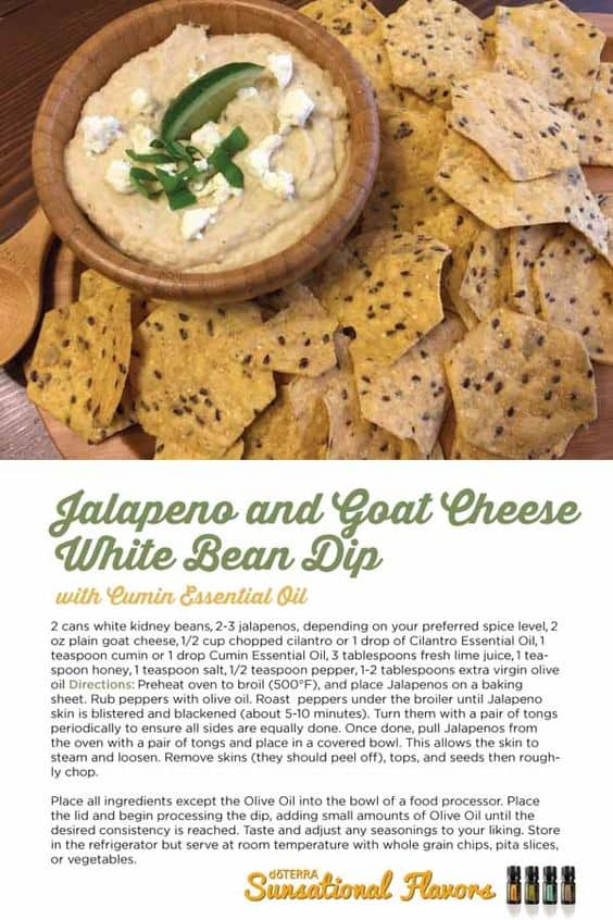 Jalapeño and Goat Cheese White Bean Hummus