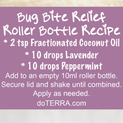Essential Oils for Bug Bites with DIY Recipes