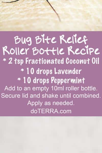 Doterra Essential Oils fir Bug Bites
