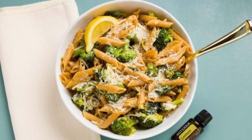 doTERRA Lemon Broccoli Pasta