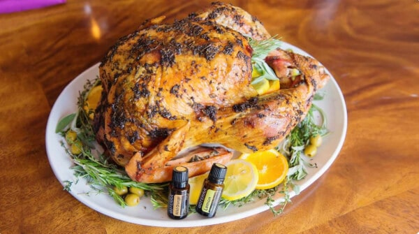 doTERRA Citrus & Herb Butter Roasted Turkey
