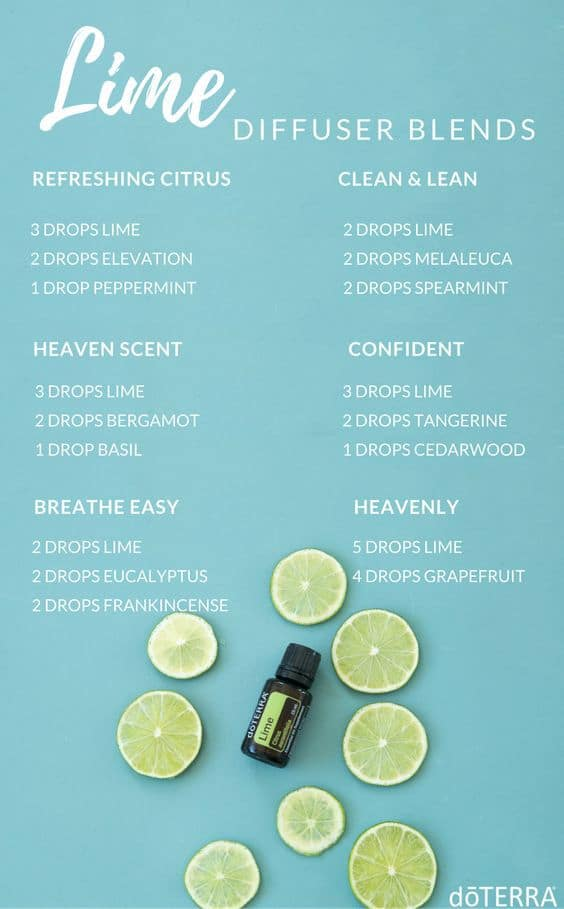 doTERRA Lime Diffuser Blends