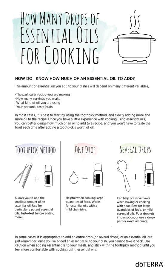 Cooking with Essential Oilx