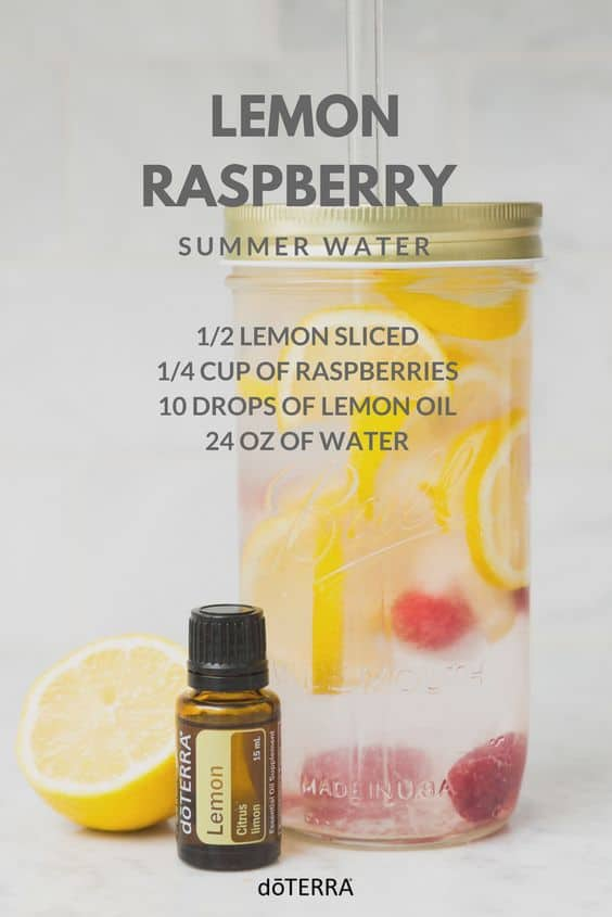 doTERRA Lemon Raspberry Water