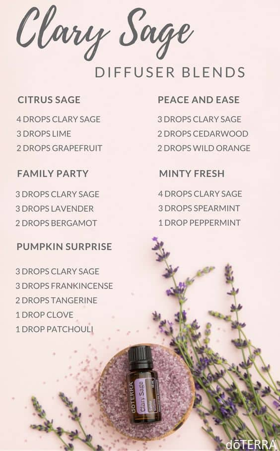 doTERRA Clary Sage Diffuser Blends