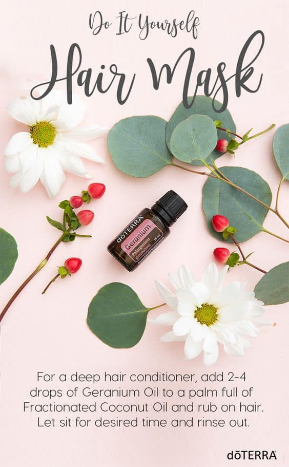 doTERRA DIY Hair Mask