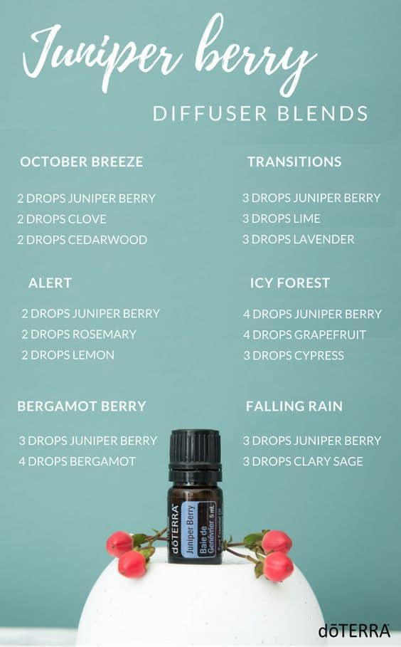 doTERRA Juniper Berry Diffuser Blends