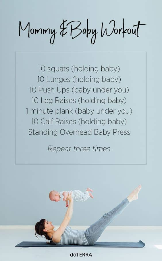 doTERRA Mommy and Baby Workout