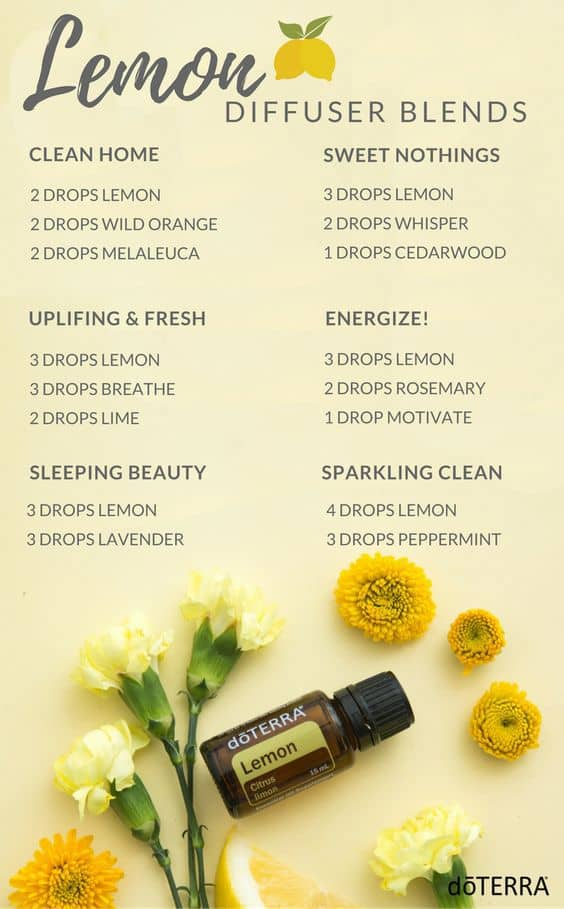 doTERRA Lemon Diffuser Blends