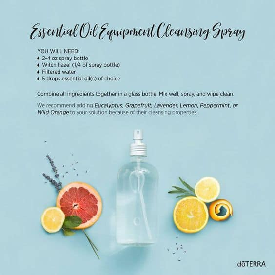 doTERRA Equipment Cleansing Spray