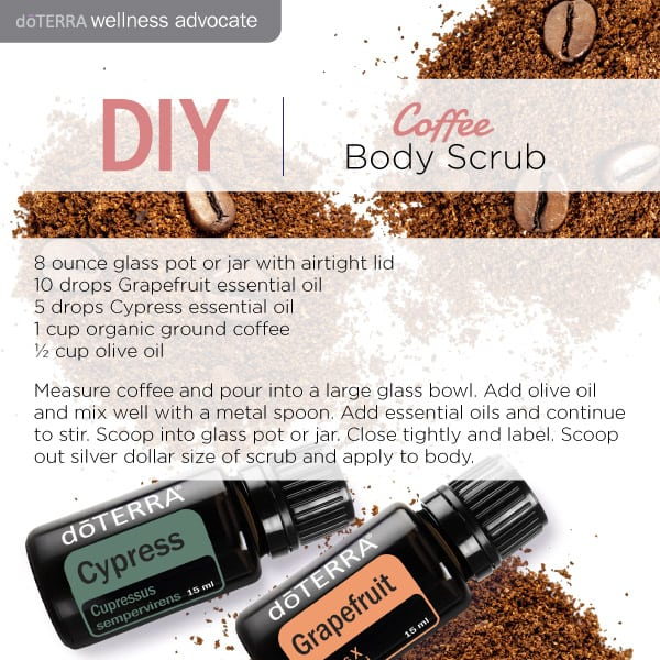 doTERRA Do It Yourself Coffee Body Scrub
