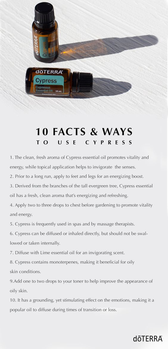 10 Facts and Ways to use Cypress Essential Oil