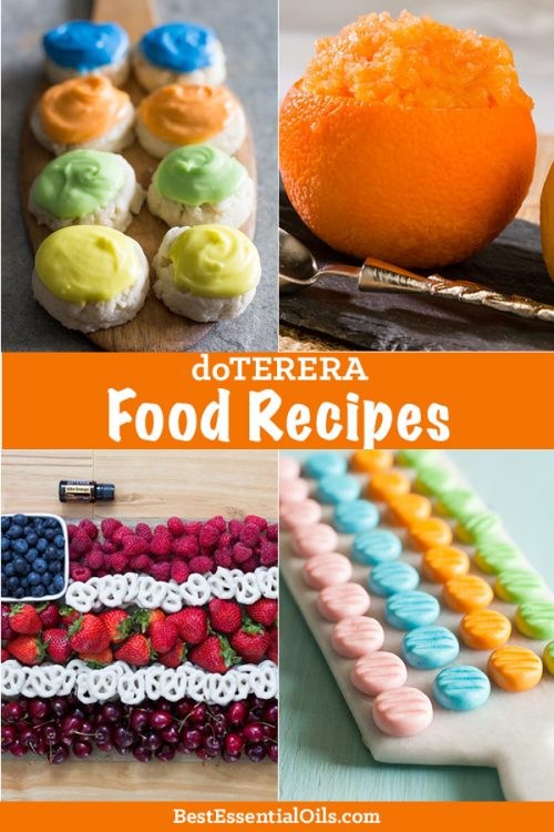 Index of doTERRA Recipes for Food