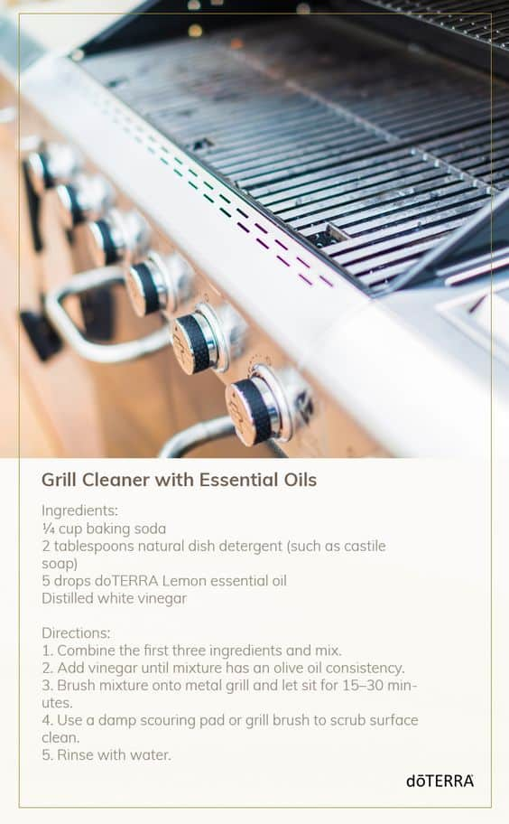 doTERRA Natural Grill Cleaner