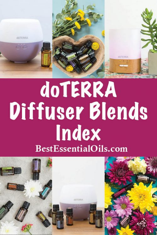 doTERRA Diffuser Blends Index