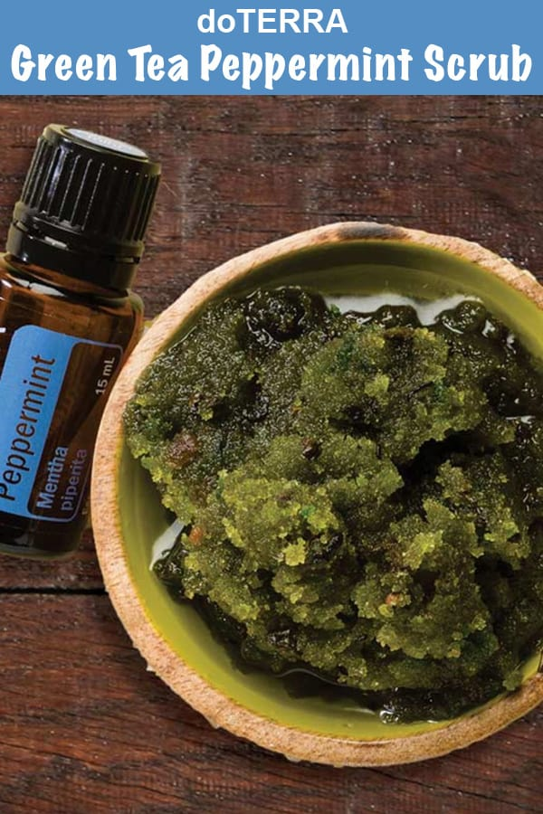 doTERRA Green Tea Peppermint Sugar Scrub