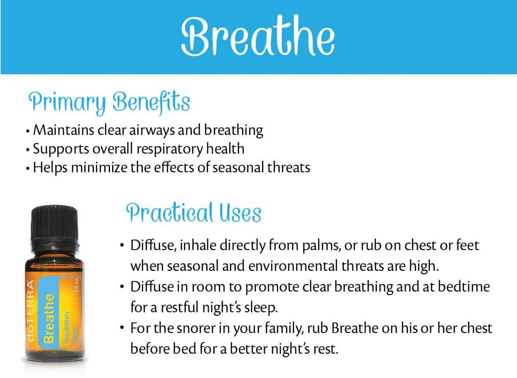 doTERRA Breathe Benefits and Uses