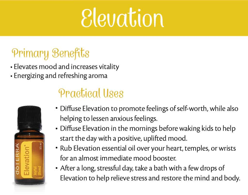 doTERRA Elevation Benefits and Uses