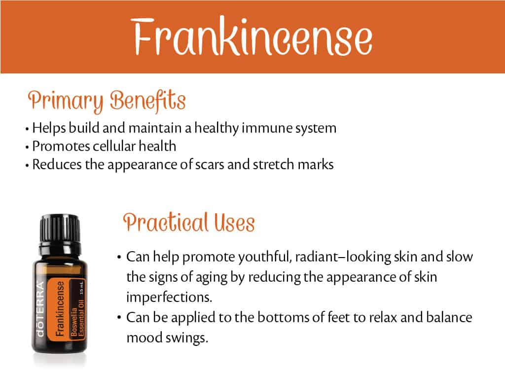 doTERRA Frankincense Benefits and Uses