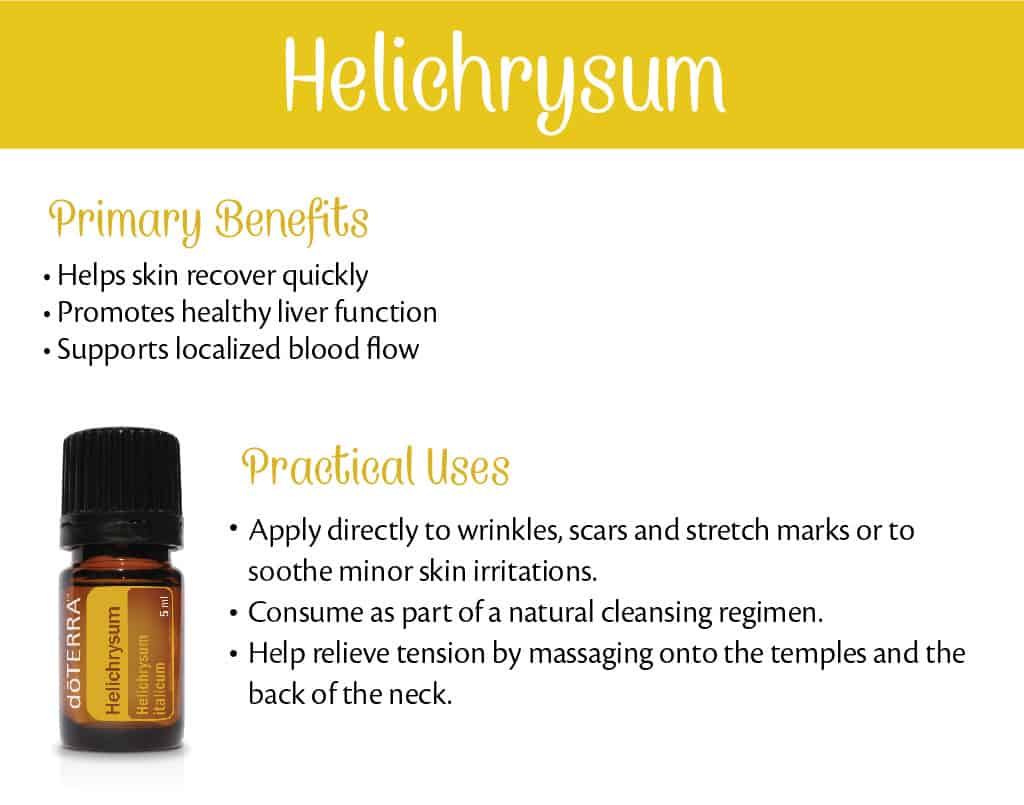 doTERRA Helichrysum Benefits and Uses