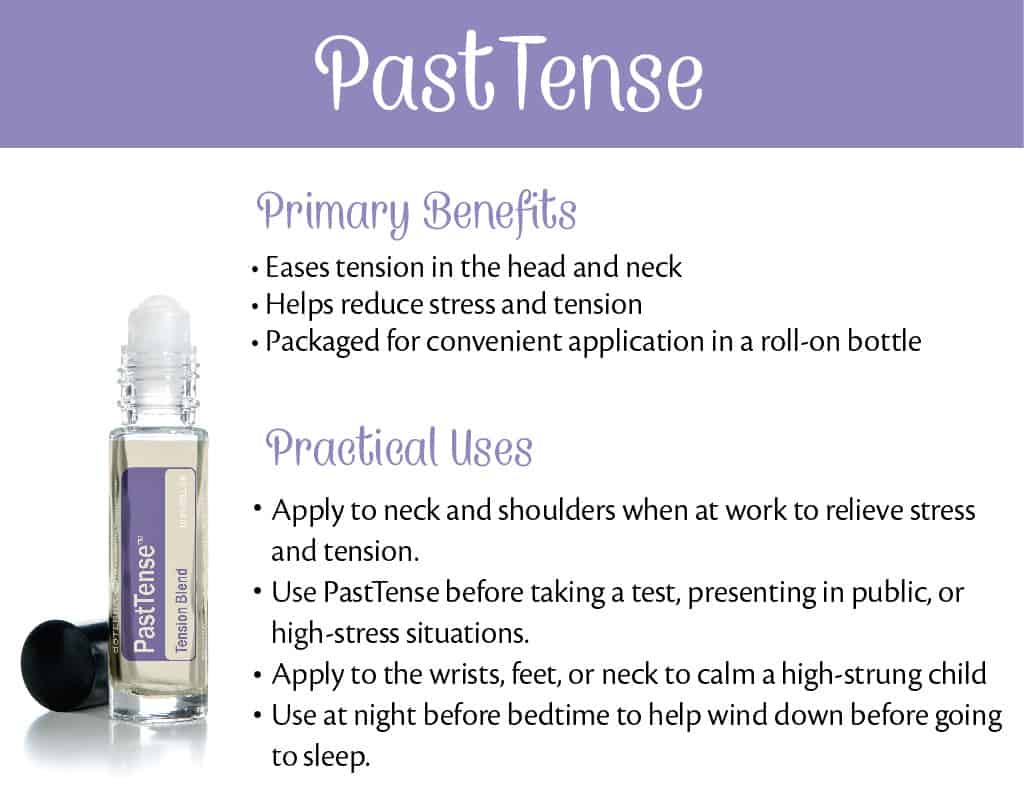 doTERRA PastTense Benefits and Uses