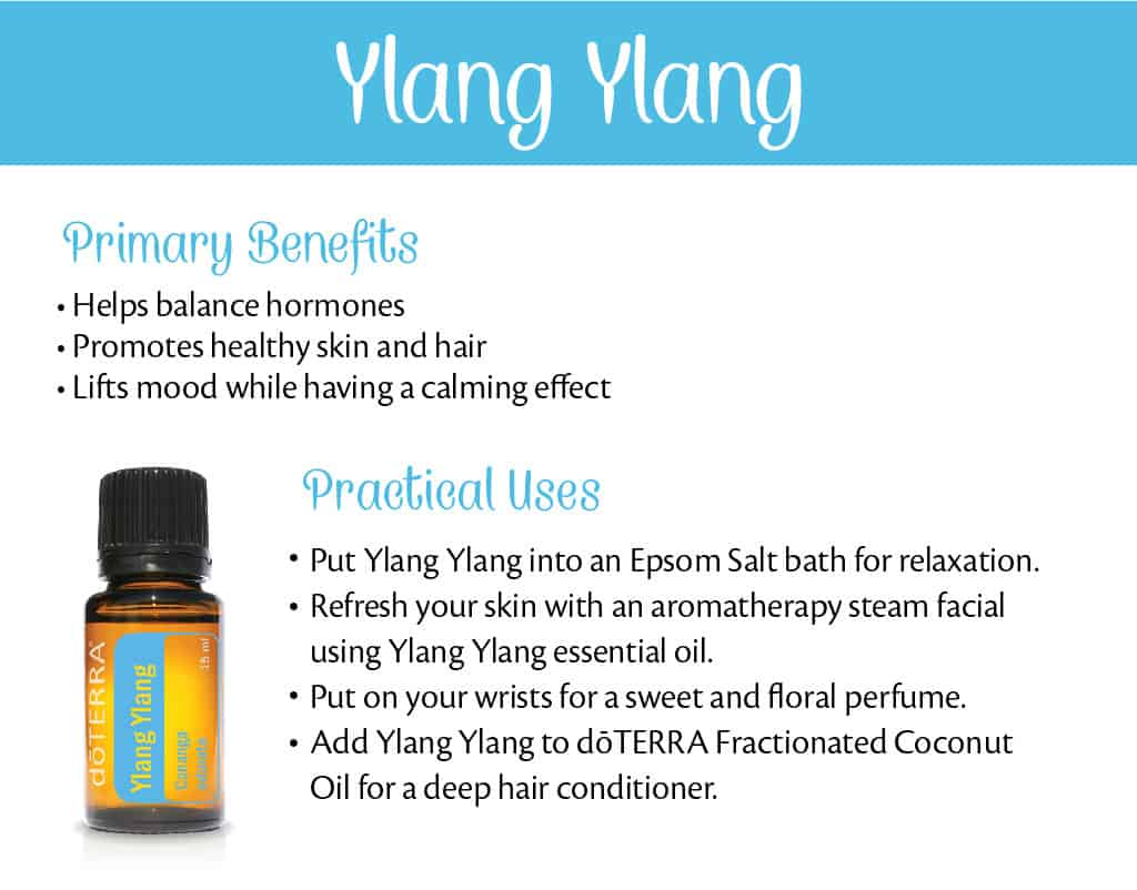 doTERRA Ylang Ylang Benefits and Uses
