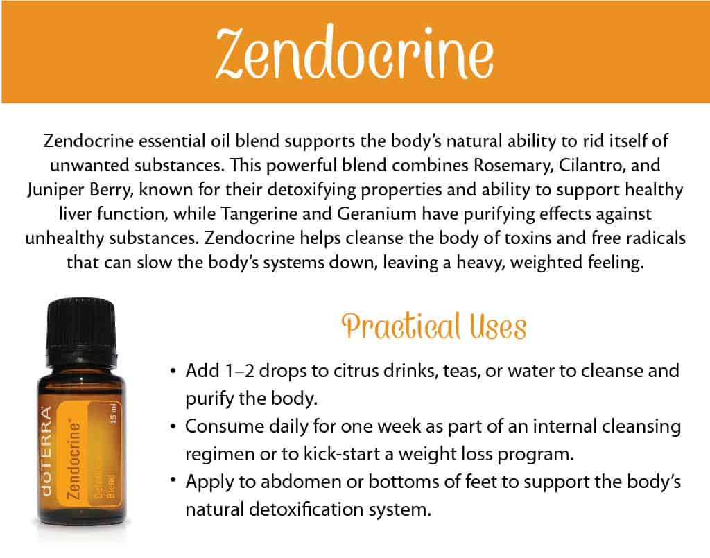 doTERRA Zendocrine Benefits and Uses