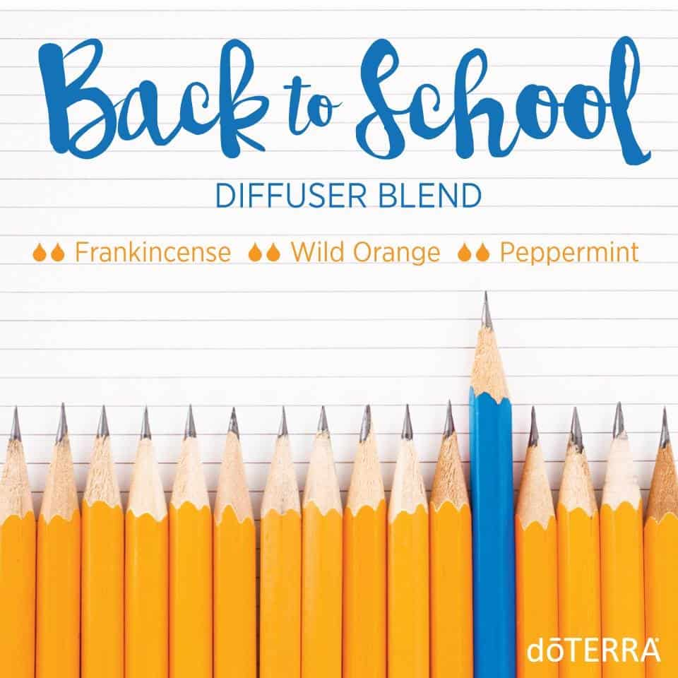 doTERRA Back to School Diffuser Blend