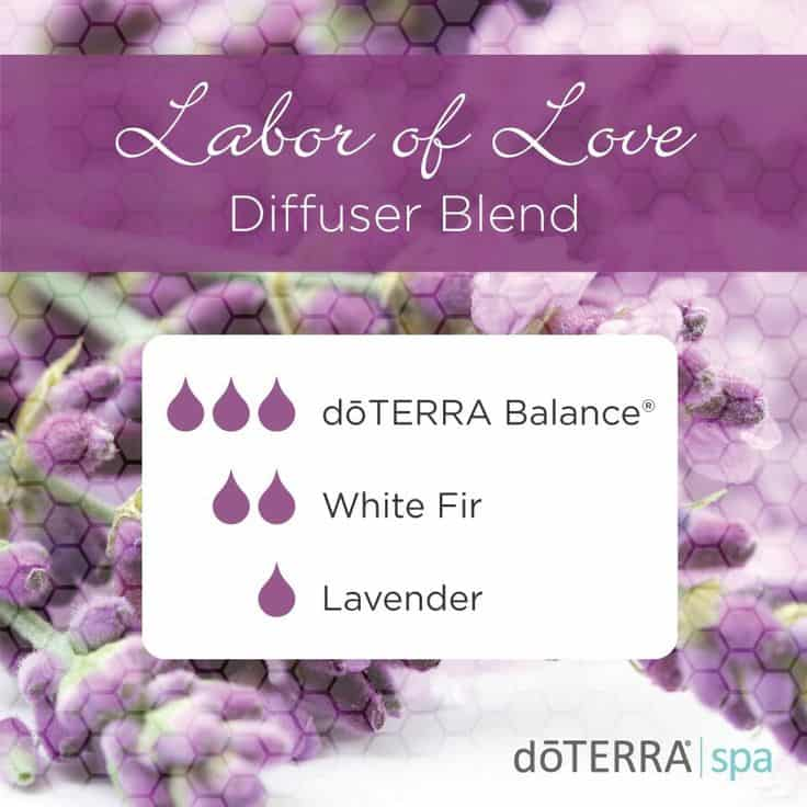 doTERRA Labor of Love Diffuser Blend