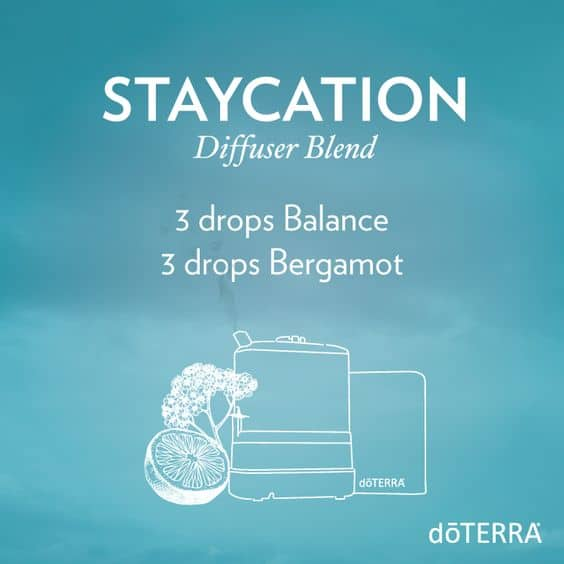 doTERRA Staycation Diffuser Blend