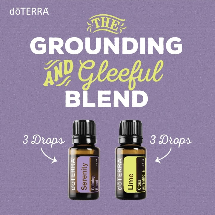 doTERRA The Grounding and Gleeful Blend
