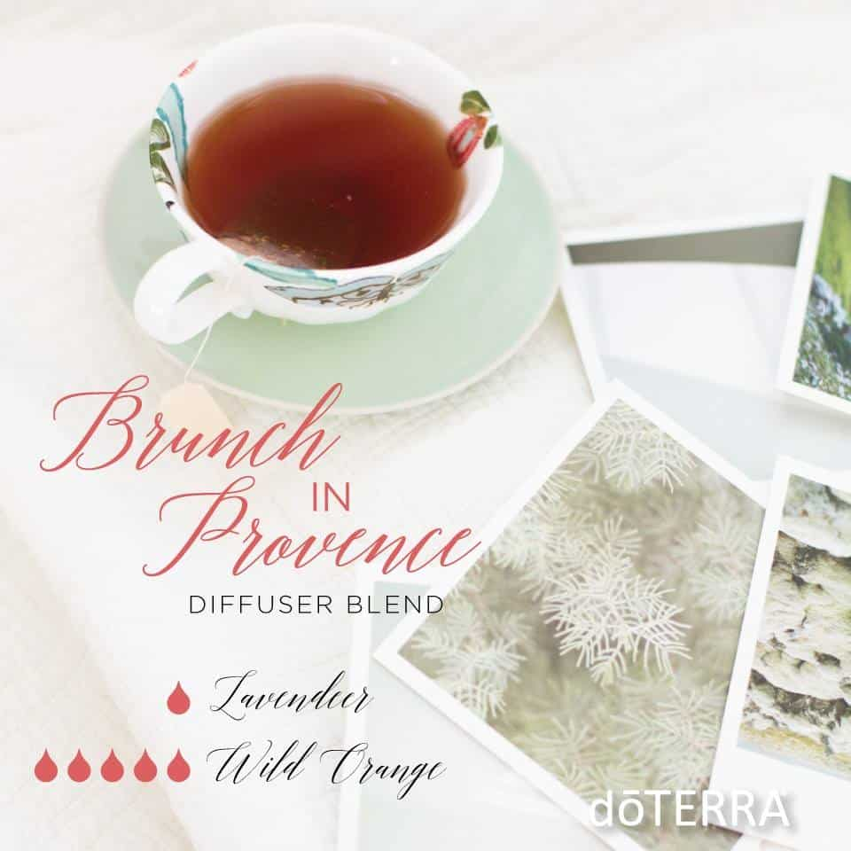 doTERRA Brunch in Provence Diffuser Blend