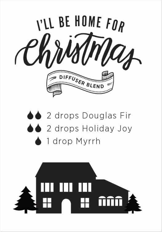 doTERRA I'll be Home for Christmas Diffuser Blend